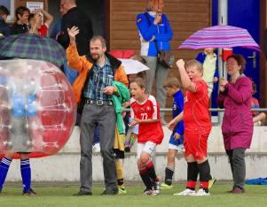 S I E G!!! Impressionen JuniorInnen am 2. Bubble Fussball Turnier des FC Hitzkirch auf dem Sportplatz Hegler Hitzkirch.