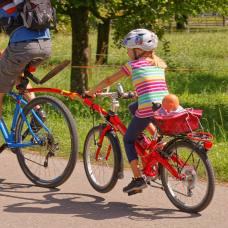Velo mit Tandemstange und Puppenkorb (Photo by: www.studhalter.org)