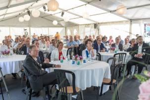 HITZKIRCH/LU, 25. AUGUST 2017 - 125 JAHRE MANOMETER AG: Jubilaeumsfeier 125 Jahre MANOMETER AG mit Sitz in Hitzkirch: Feier (Freitag) fuer Kunden/VIP. Fotodokumentation 125 Jahre Manometer AG. ths/Photo by: THOMI STUDHALTER / MANOMETER
