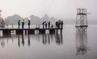 Impressionen Freundschaftsfischen des SFVB Baldeggersee in der Badi Baldegg.