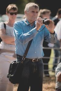 Fotografen während Prämierung Betriebscup: Präsentation der Kandidatinnen - immer im Trio