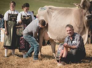 Gina - Miss Protein: Impressionen HORBA 2017 Aargauer kantonale Braunviehausstellung auf dem Horben bei Beinwil/Freiamt.