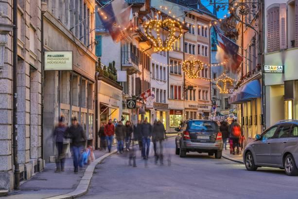 """Weihnachtsbelchtung im """"Kronenquartier"""""""