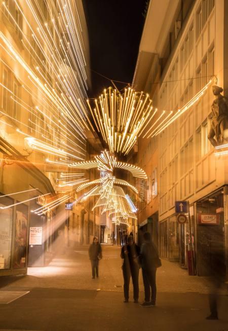 Weihnachtsbeleuchtung Rössligasse