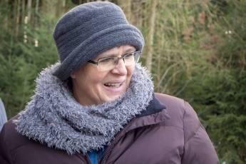 Astrid Budliger mit coolem Hut