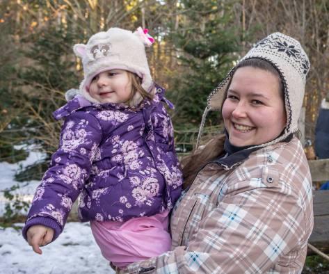Sabrina Budliger (rechts) mit Shayana Hartmann.