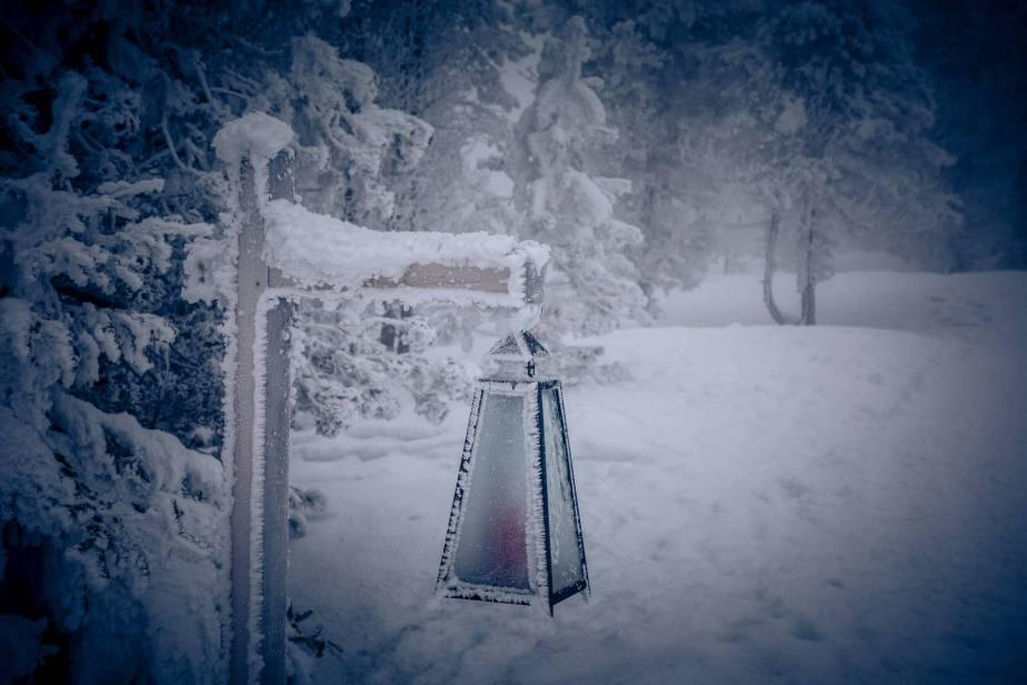 Tiefster Winter am Glaubenberg…