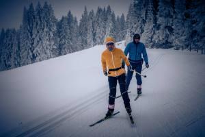 Winterliche Idylle im tiefverschneiten Langis-Kaltbad.