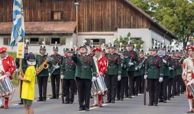 Ab auf die Piste: Harmoniemusik Sempach