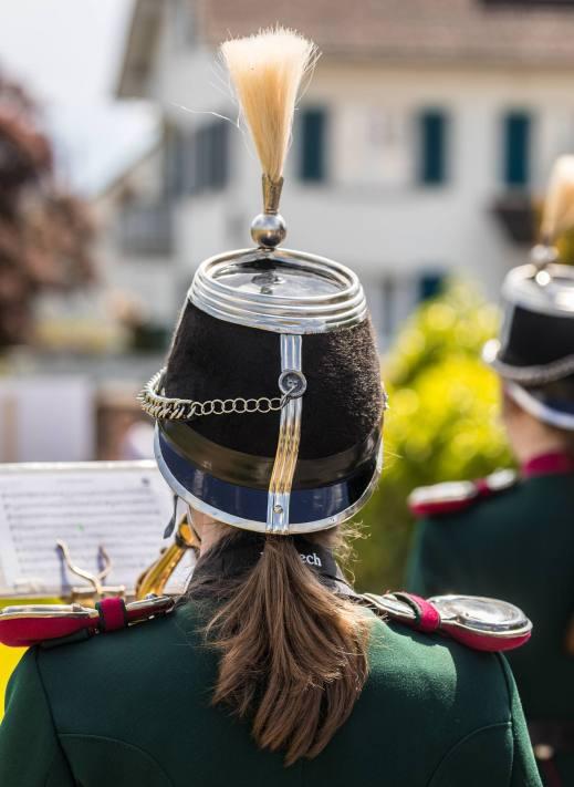 Jedes Detail stimmt: Harmoniemusik Sempach