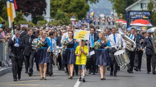 Geschafft: Brass Band Schötz