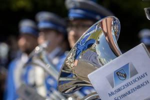 Stillgestanden für den Juror: Musikgesellschaft Schwarzenbach