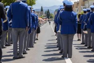 Start auf die Paradestrecke: Musikgesellschaft Schwarzenbach